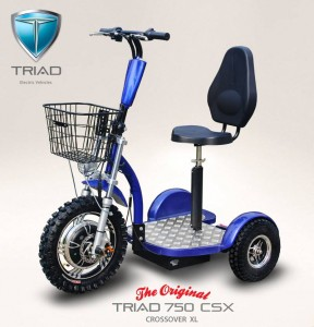 Triad 750 CSX Royal Blue Metallic